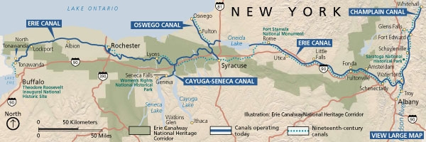 the herzig group packages touring new york staterhtheherziggroup erie canal united states map at sokhangu eriecanalmapgifrhgeomsuedu
